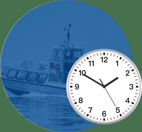 tuile horaire - Navettes fluviales Marc Saulnier Lavaltrie