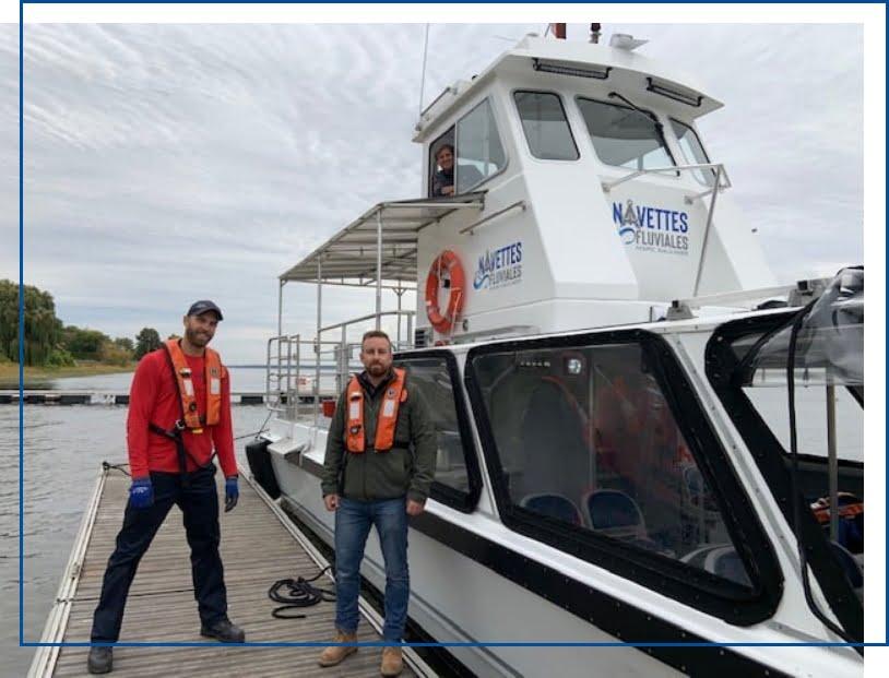 Bateau et équipage | Navettes Fluviales Marc Saulnier